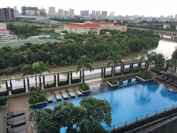Cần bán gấp căn hộ Rivera Point full nội thất- view hồ bơi và sông đẹp nhất dự án -LH: 0932 425 505