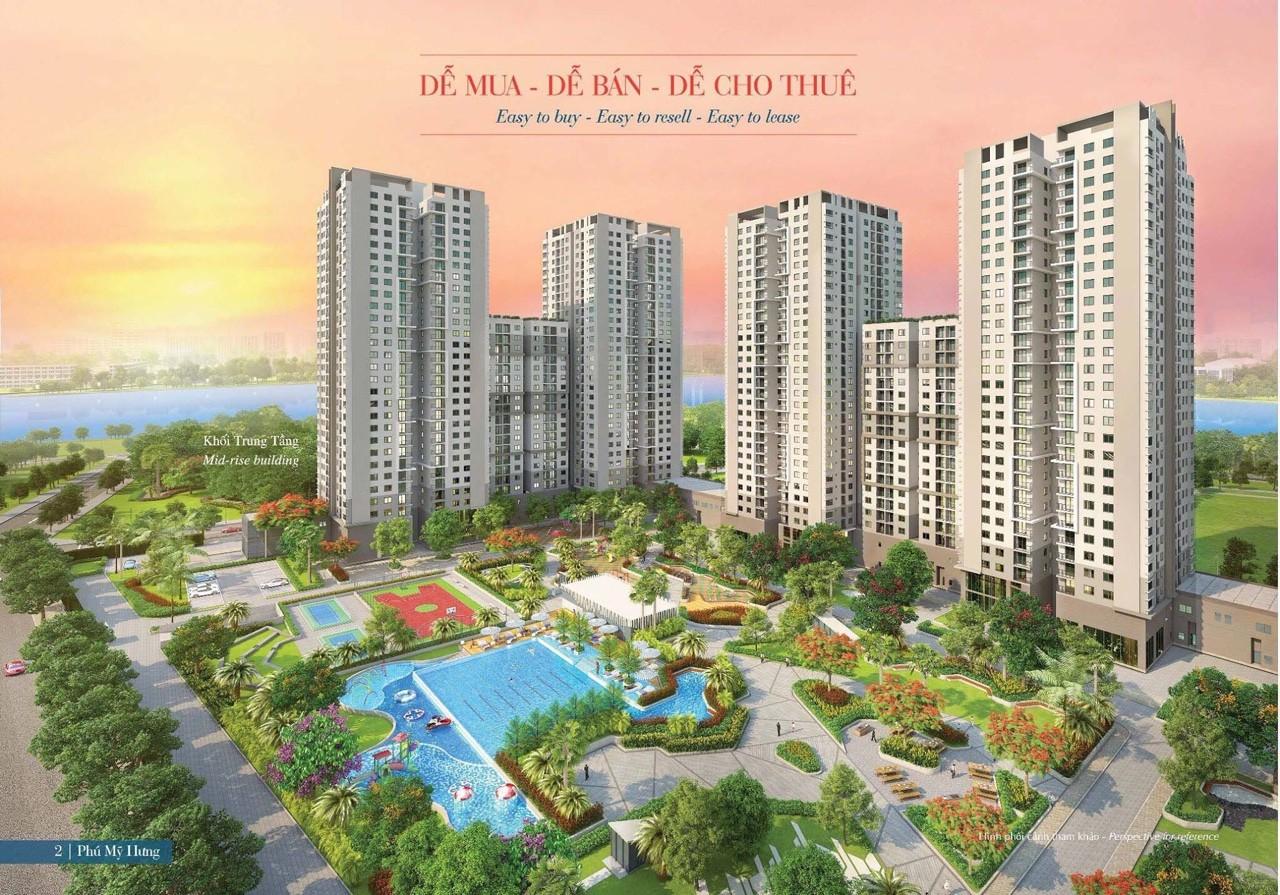 Khách cần tiền kinh doanh bán cắt lỗ Saigon South. DT 65 - 104m2, giá 1.8 - 3.55 tỷ, LH  Giang