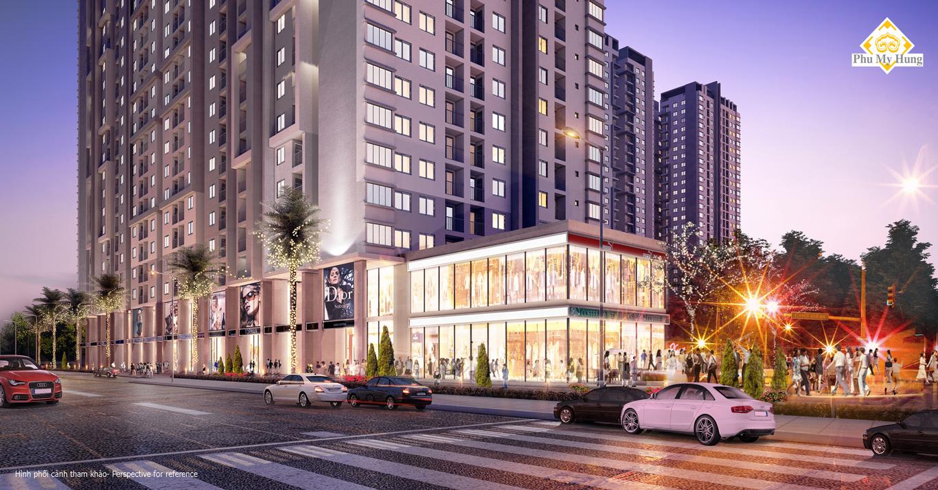 Cần tiền bán gấp CH Sài Gòn South - Phú Mỹ Hưng giá DT 65m2-104m2 chỉ 1.9 tỷ   Giang